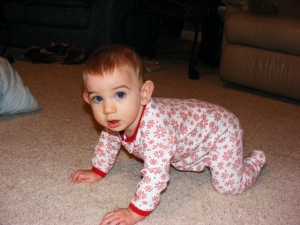 this is creeping position, not crawling